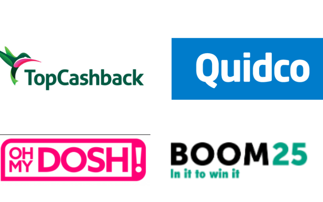 The best cashback sites