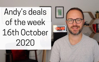 Andy's deals of the week 16th October 2020