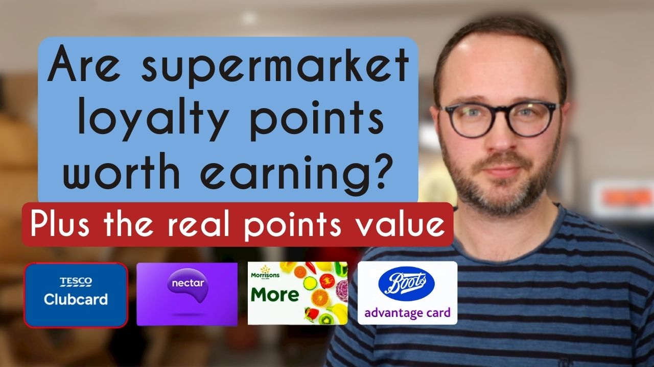 What are supermarket loyalty card points worth