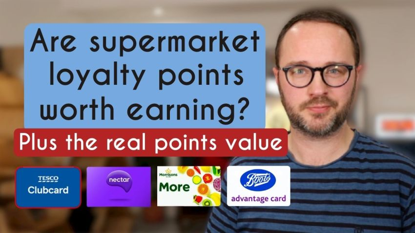 What are loyalty card points worth?