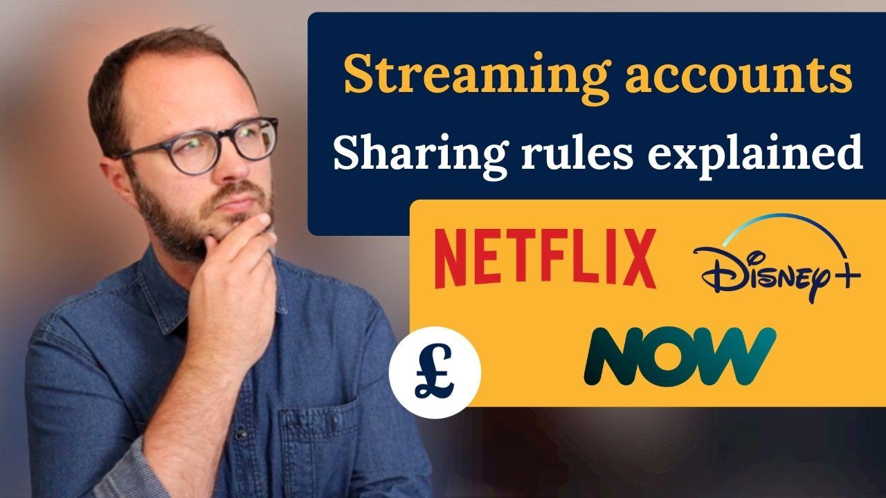 sharing streaming accounts
