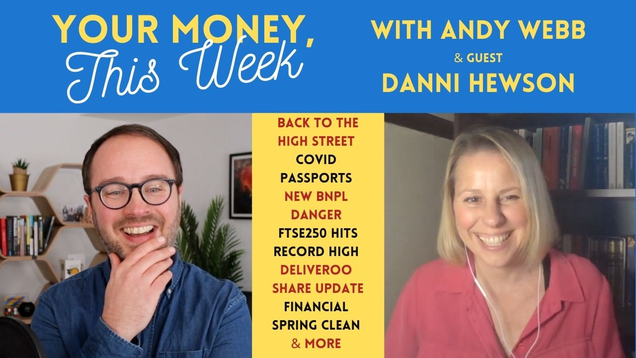 Andy Webb and Danni Hewson on the Cash Chats podcast