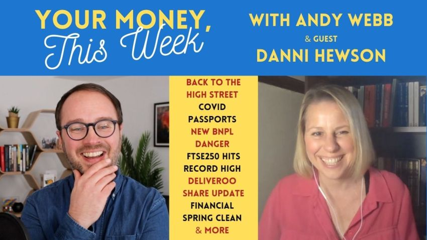 Cash Chats #184: Your Money, This Week - 9th April 2021