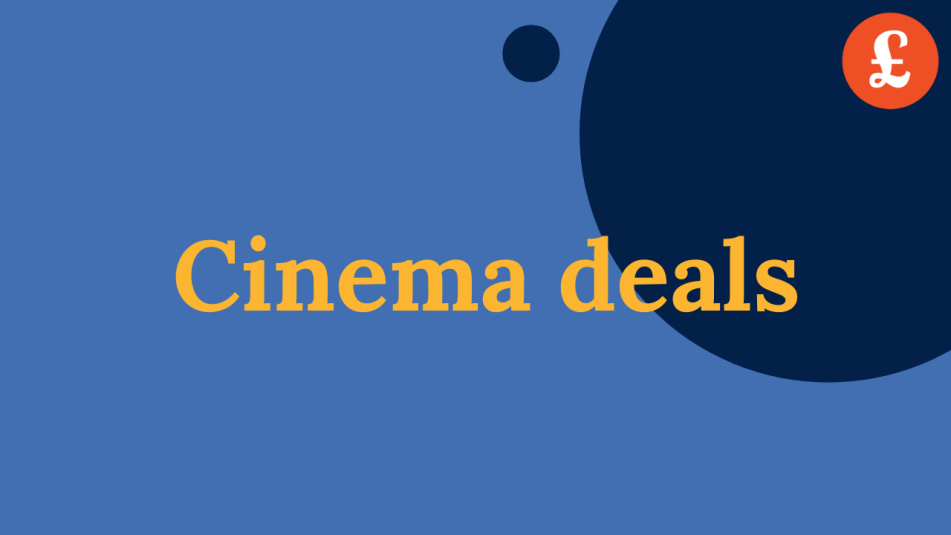 Cheap cinema ticket deals and offers