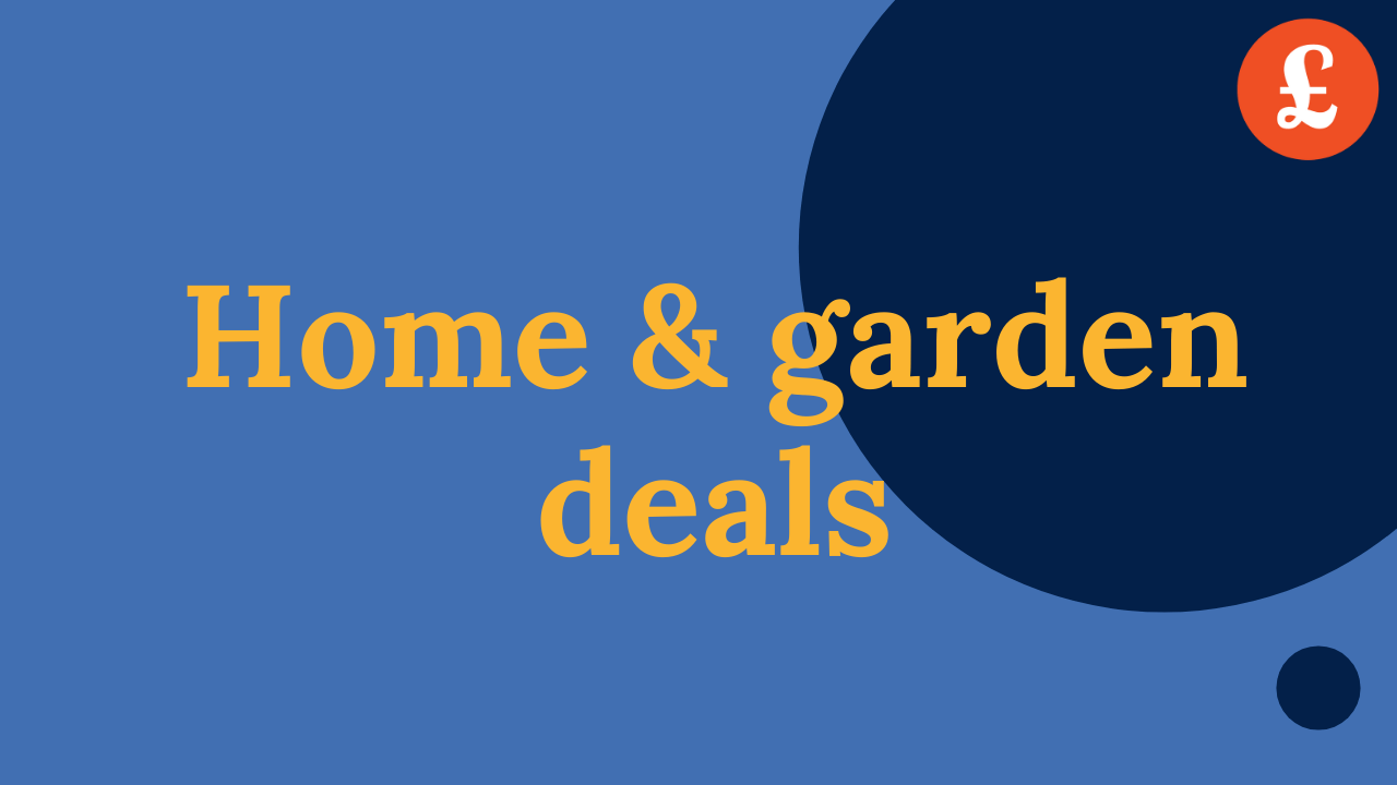 Home and garden deals