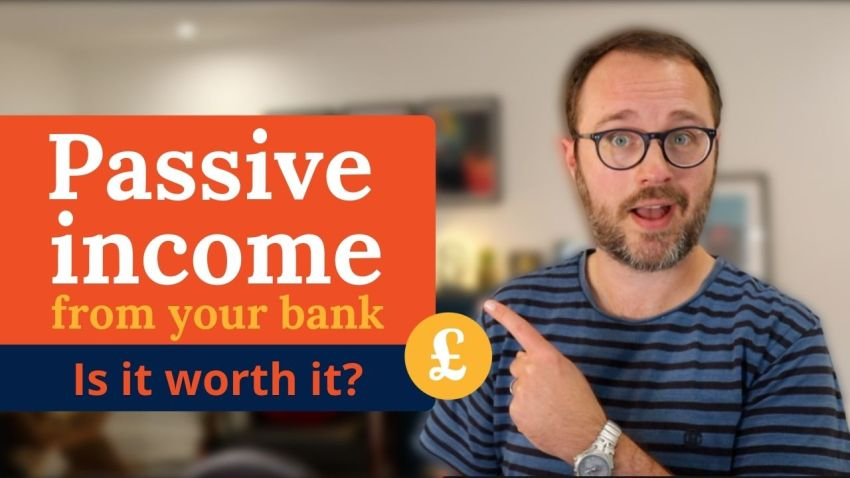 Passive income from bank rewards