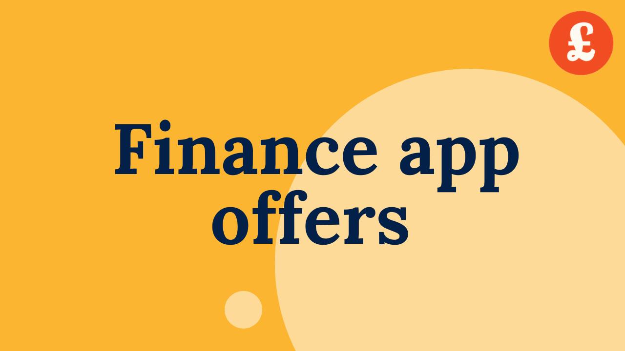 Finance app offers