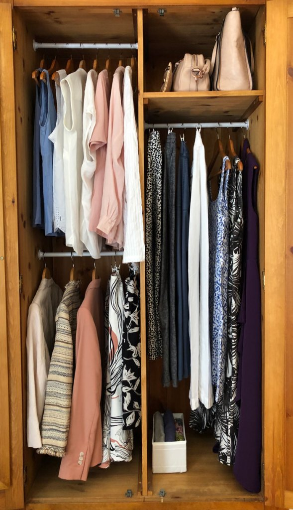 How to organise your wardrobe for spring/summer