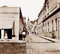 O Beco do Rosário em 1875