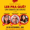 Evento reúne booktubers em Taubaté para discutir leitura e mercado editorial