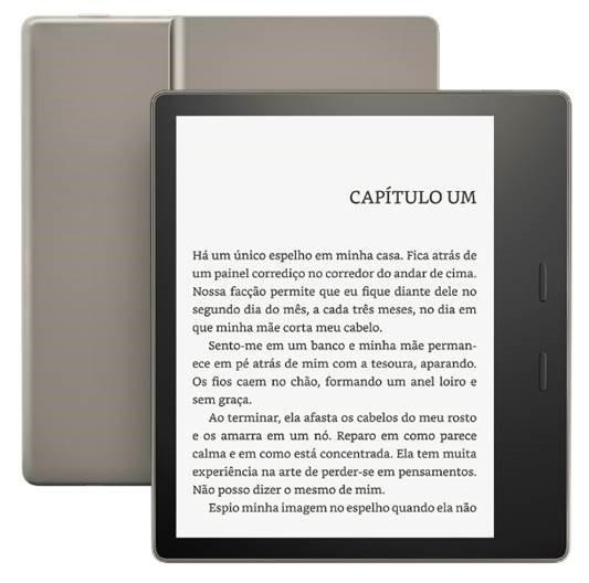 Novo Kindle Oasis chega com tela maior e à prova d'água