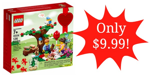 Lego Romantic Valentine Picnic Set Only 999 Become A Coupon Queen