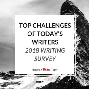 Top Challenges of Today's Writers (2018 Writing Survey)