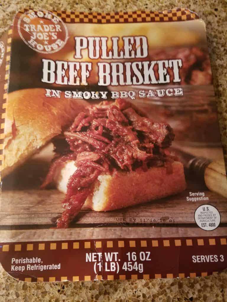 Trader Joe's Pulled Beef Brisket
