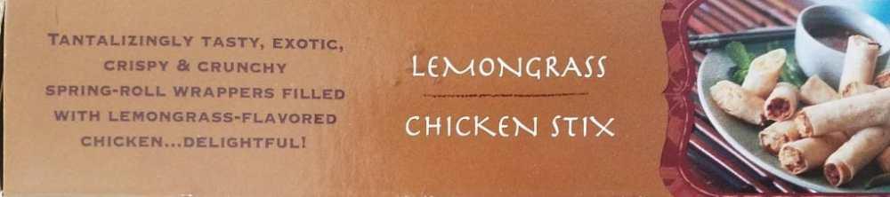 Trader Joes Lemongrass Chicken Stix