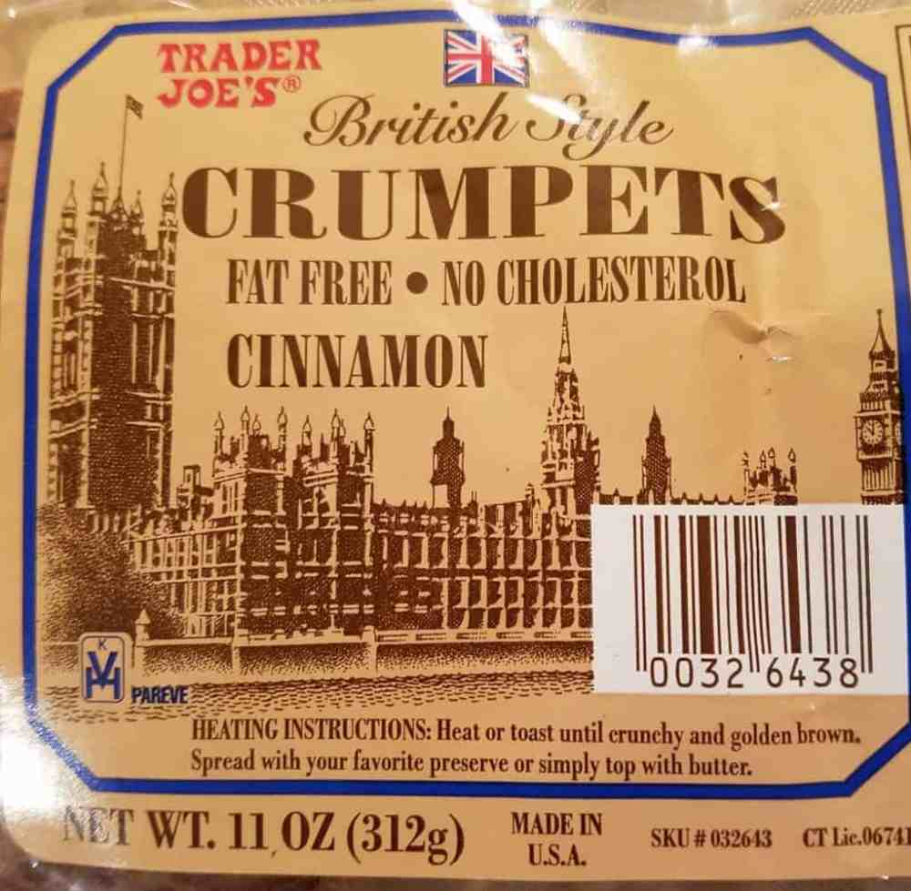 Trader Joe's Cinnamon Crumpets