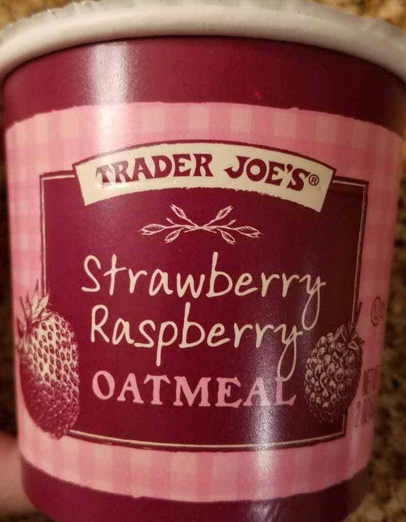 Trader Joe's Strawberry Raspberry Oatmeal