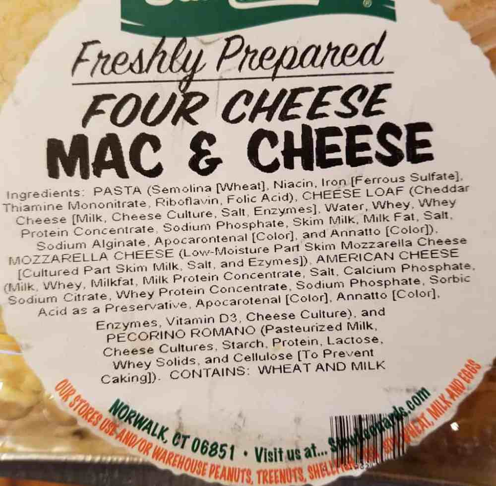 Stew Leonard's Mac and Cheese