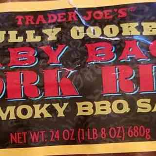 Trader Joe's Fully Cooked Baby Back Ribs