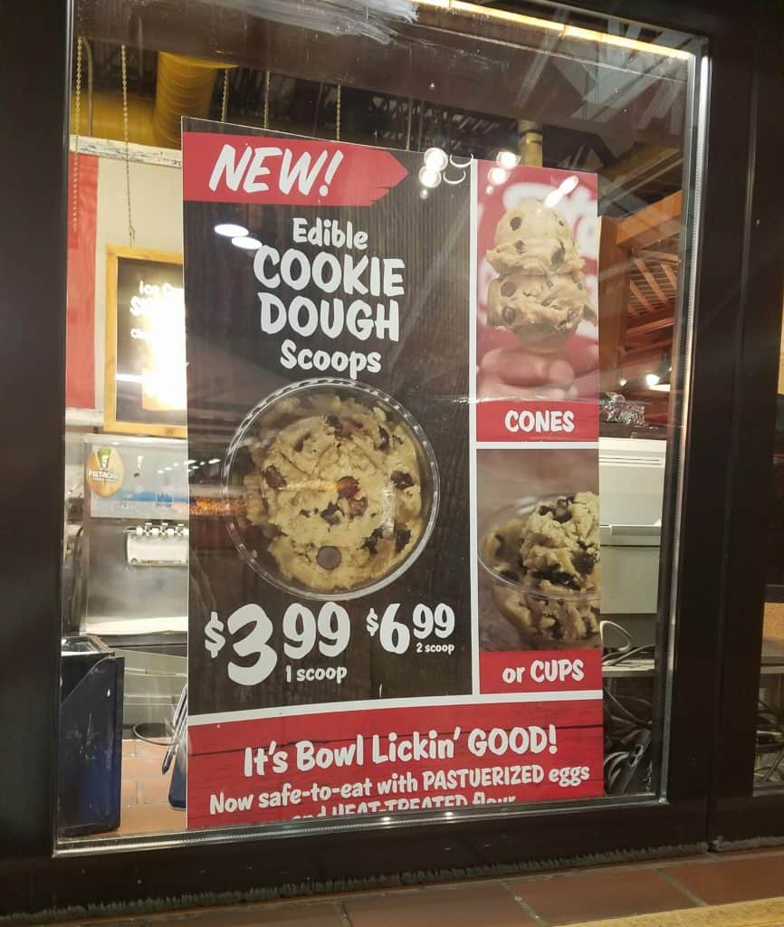 Stew Leonard's Edible Cookie Dough