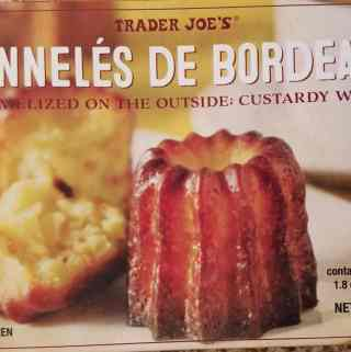 Trader Joe's Canneles de Bordeaux