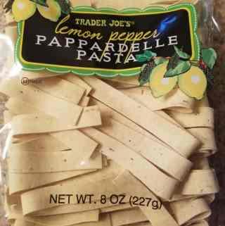 Trader Joe's Lemon Pepper Pappardelle
