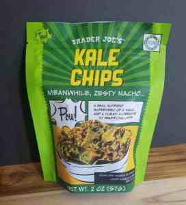Trader Joe's Nacho Kale Chips Bag