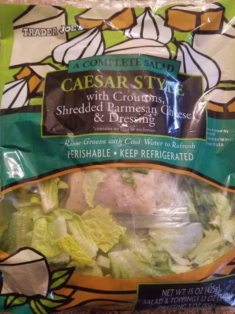 Trader Joe's Caesar Style Salad