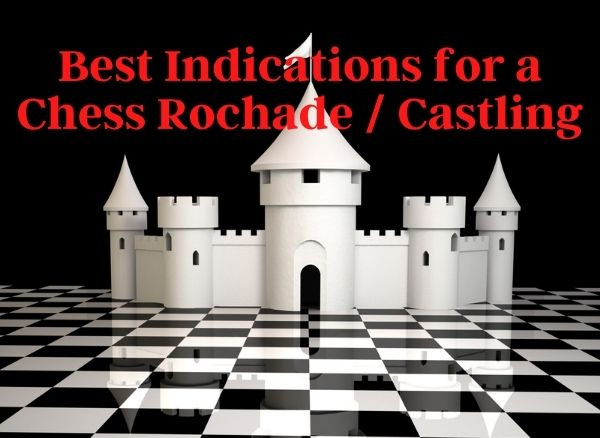 3 Best Indications for a Chess Rochade or Castling BecomingAChessmaster.com