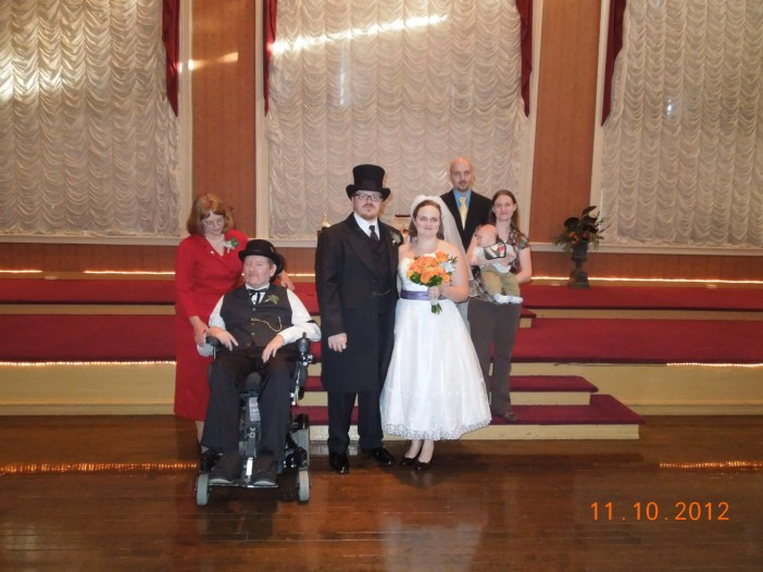 Our family at Eric and Erin's wedding