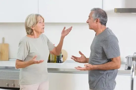 Wife attempting to convenience husband that his delusion isn't real. but getting nowhere.