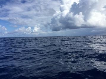 Calm seas in the Mona Passage