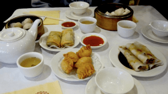 Aussies love their dumplings and other Chinese foods (aka YUM CHA)