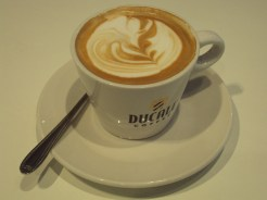 The first Australian cappuccino I had. Been hooked on Aussie coffee ever since.