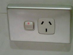 And having to switch on power for outlets (wish we had this in the US!)