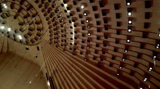 acoustics inside the opera house