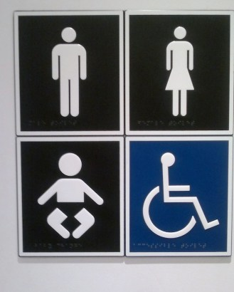 Apparently, there's a lot of adult-sized babies in Australia that require their own toilets.
