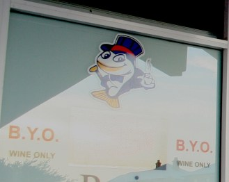 Yes, you can B.Y.O. wine at a local fish & chips shop. Aussies love to drink!