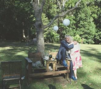 Joyful parents