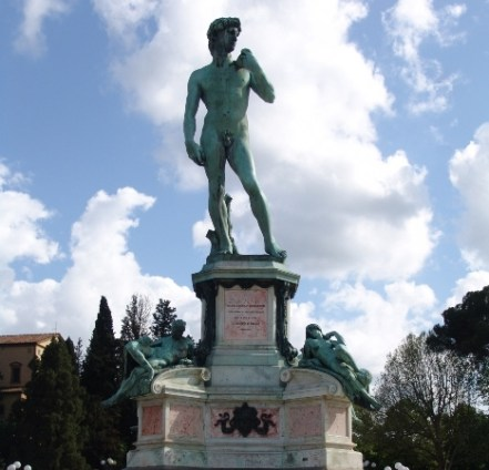 David at Piazzale Michelangelo
