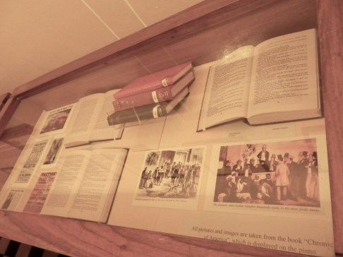 The Institute's display of literature, photos and other sources related to Black History Month.