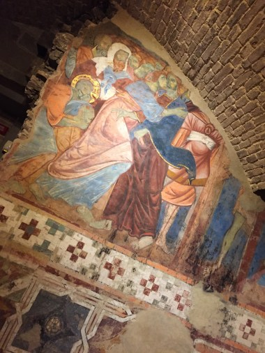 Fresco from the crypt