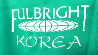 Fulbright korea logo teal