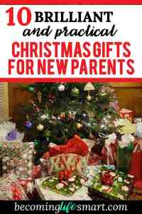 I LOVE these Christmas gift ideas! Perfect present options for a new mom. | Christmas present ideas for family | Christmas present ideas for mom | Christmas gifts ideas | Christmas gifts ideas for mom | www.becominglifesmart.com