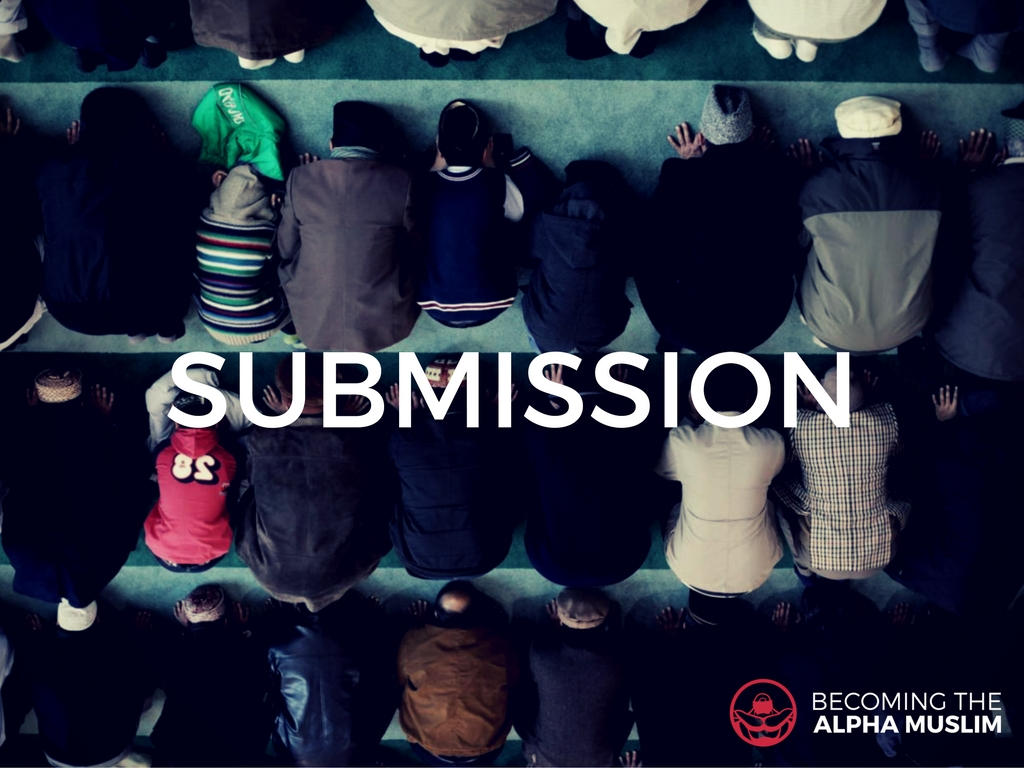 Islam means submission