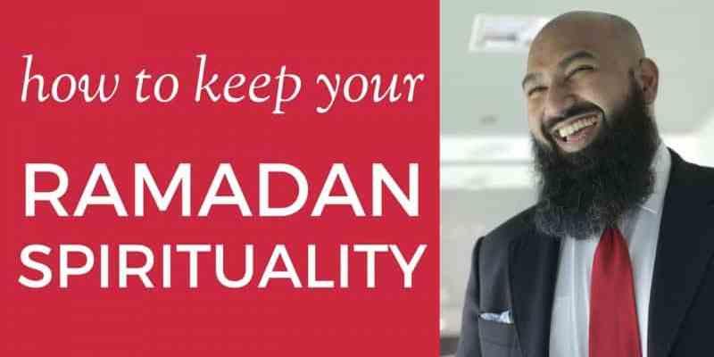 how to keep your ramadan spiritual state after eid post-ramadan tips