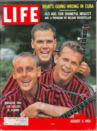 The Trio on the cover of LIFE