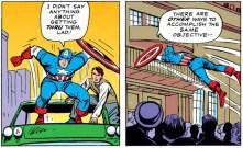 Captain America, avoiding crowds like a professional since 1963. (Avengers #16)