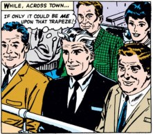 Pietro just really wanted to be a trapeze artist. Dream big, Pietro. (Avengers #18)