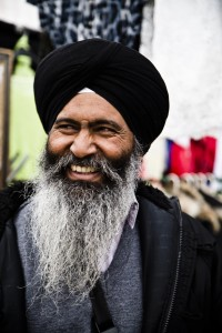 Gurmail Singh Soul, Barking Market. Photo by AF Rodrigues